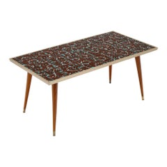 Polychrome French Tiled Coffee Table