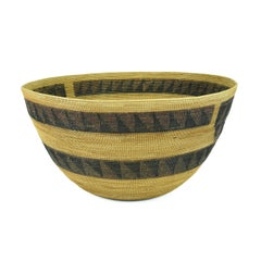 Polychrome Yokut Basket