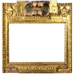 Polychromed and Gilded Wood Frame, Spain, 17th Century