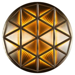 Polygon Wall, Lighting Fixture, Wall or Ceiling Created by Atelier Boucquet