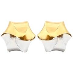 Pomellato Two-Toned Clip-On Earrings