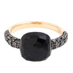 Pomellato 18 Karat Black Diamond Ring