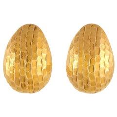 Pomellato 18 Karat Yellow Gold Earrings