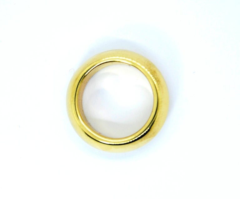 Iconic Collection Solid 18k gold Pomellato classic Ring Ring Size 52 1/2 Europe,   6 1/2 US    can be resize upon request  Weight 16.7gr of 18k gold  Synonymous with creativity and character in the international panorama of jewelry, the Pomellato