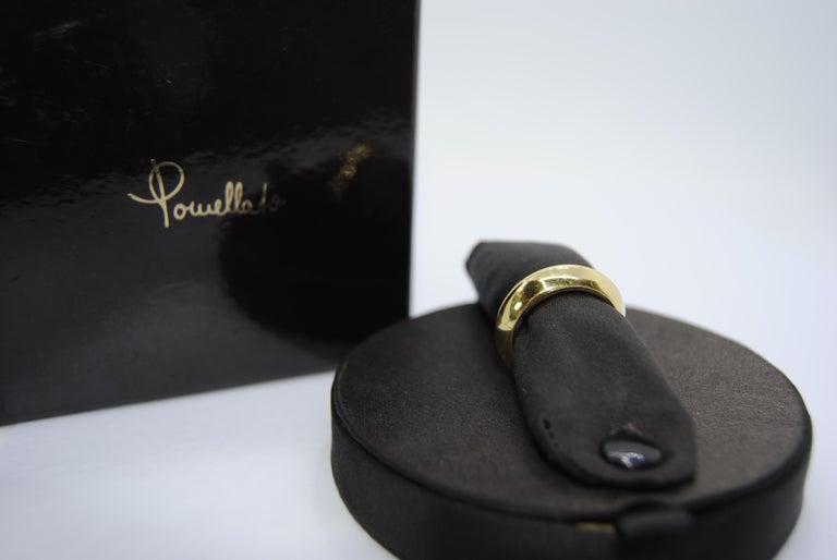 Pomellato 18 Karat Yellow Gold Solid Ring Iconic and Classic Pomellato In New Condition For Sale In Bilbao, ES