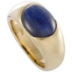 Pomellato 18 Karat Yellow Gold Iolite Cabochon Band Ring