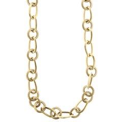 Pomellato 18 Karat Yellow Gold Necklace and Bracelet, Italy