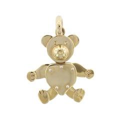 Pomellato 18 Karat Yellow Gold Teddy Bear Charm