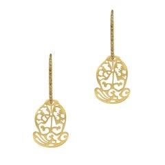 Pomellato Acorn Rose Gold Drop Earring