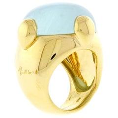Pomellato Aquamarine Ring
