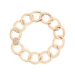 Pomellato Brera Rose Gold and Brown Diamonds Ladies Bracelet B.B910/BRO7/17