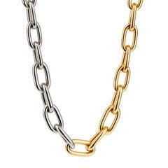 Pomellato Zweifarbige Gold Halskette