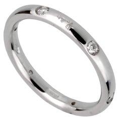 Pomellato Diamond White Gold Band Ring
