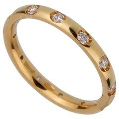 Pomellato Diamond Yellow Gold Band Ring