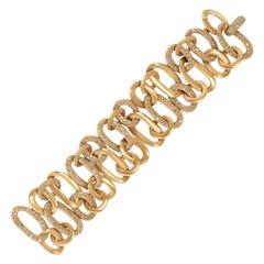 Pomellato Fancy Diamond Chain Rose Gold Bracelet