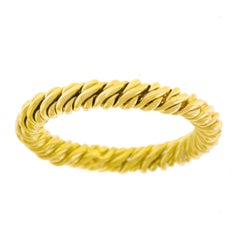 Pomellato Flexible Gold Band