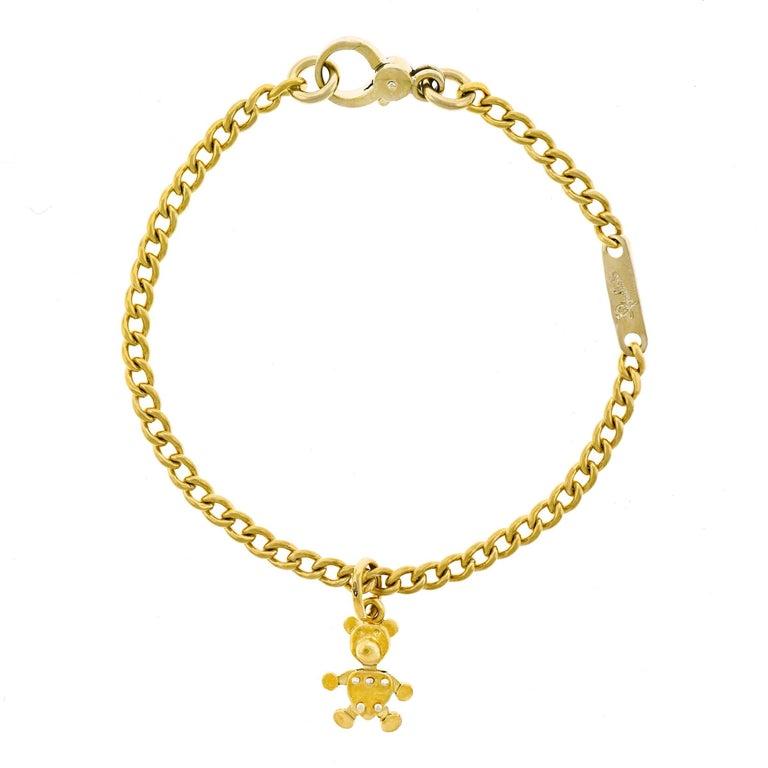 Pomellato Gold Charm Bracelet