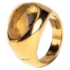 Pomellato Gold Citrine Ring