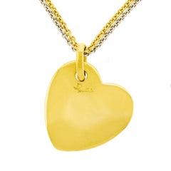 Pomellato Gold Heart Pendant
