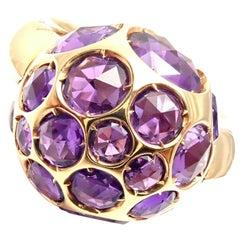 Pomellato Harem Amethyst Rose Gold Ring