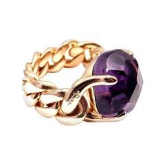 Pomellato Lola Collection Amethyst in 18 Karat Rose Gold Ring