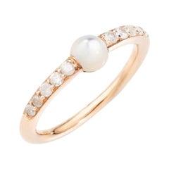 Pomellato m'ama non m'ama Mother of Pearl and Diamonds Ladies Ring A.B909B17MP