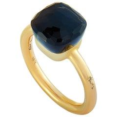 Pomellato Nudo 18 Karat Yellow Gold and Onyx Ring