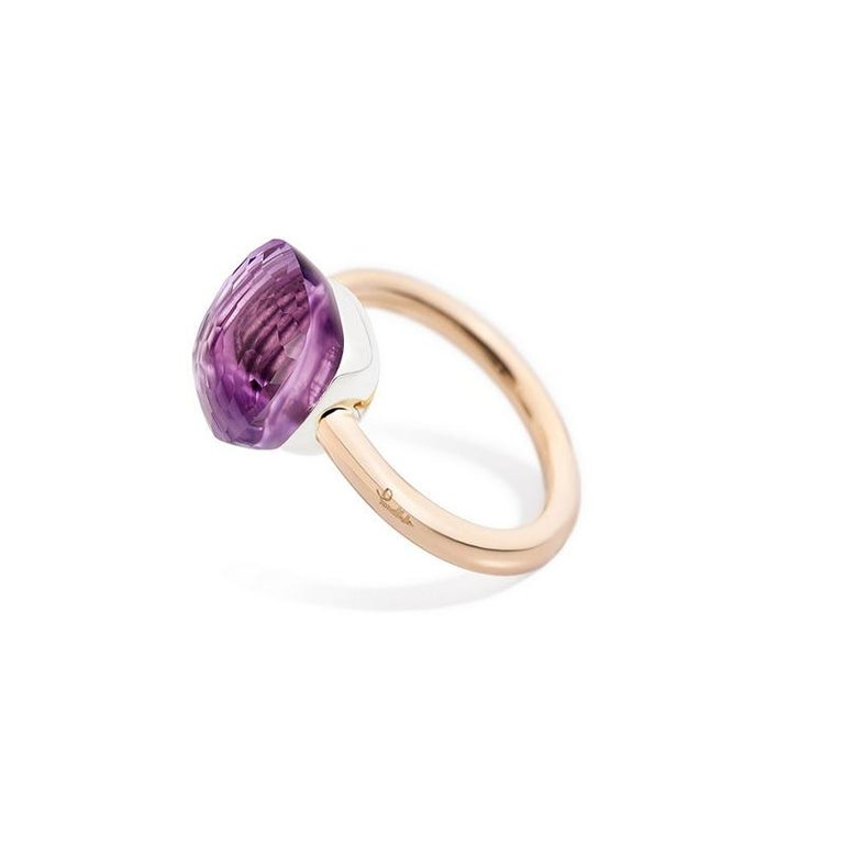 - Pomellato - Nudo Classic - Stackable Ring with Amethyst