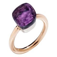 Pomellato Nudo Classic Ring in Rose Gold with Amethyst A.A110-O6-OI