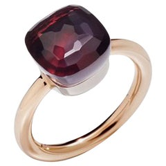 Pomellato Nudo Classic Ring in Rose Gold with Garnet A.A110-OG1-O6