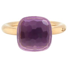 Pomellato Nudo Collection Amethyst 18 Carat Rose Gold Ring