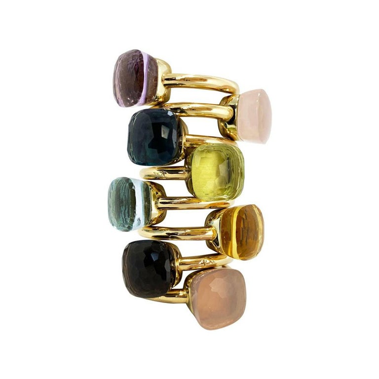 Pomellato Nudo Collection Rose De France 18 Carat Rose Gold Ring For Sale 5