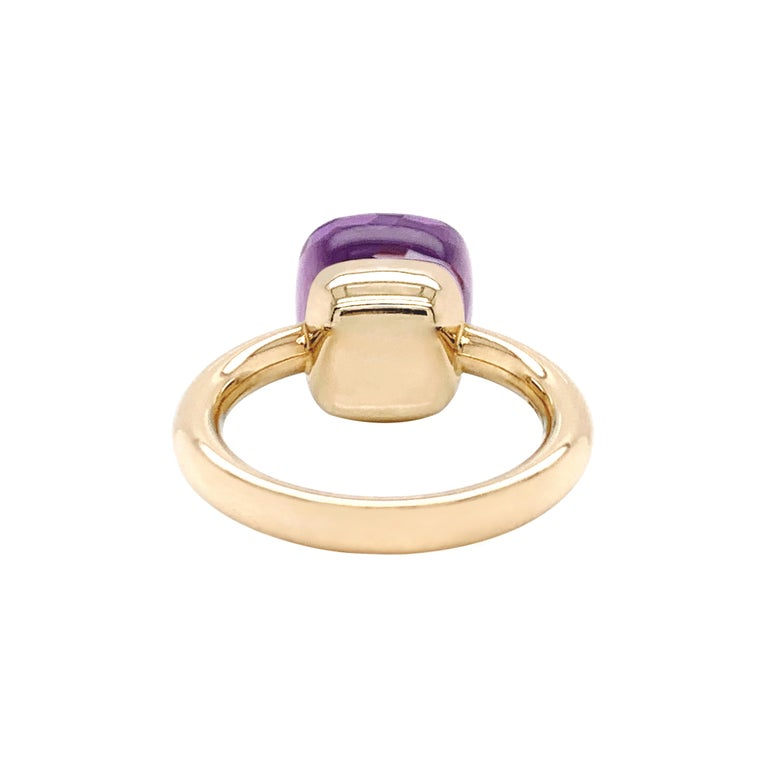 Pomellato Nudo Collection Rose De France 18 Carat Rose Gold Ring In Good Condition For Sale In London, GB