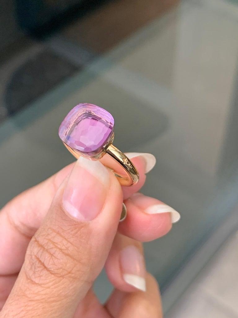Pomellato Nudo Collection Rose De France 18 Carat Rose Gold Ring For Sale 1