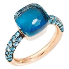Pomellato Nudo Deep Blue Ladies Ring A.B904O6TLTTB