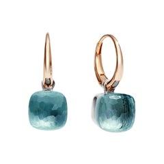 Pomellato Nudo Petit Blue Topaz Ladies Earring OB2010O6000000OY