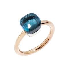 Pomellato Nudo Petit London Blue Topaz Ladies Ring AB4030O6000000TL