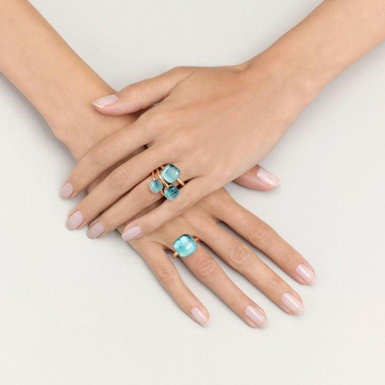 Kiki | Pomellato | Nudo Ring - Petit | London Blue Topaz