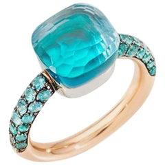 Pomellato Nudo Sky Blue Ladies Ring A.B904O6OYTTP
