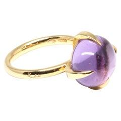 Pomellato Rose Gold Amethyst Veleno Ring