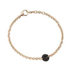 Pomellato Sabbia Bracelet in Rose Gold in Pavé B.B407-O7-B9