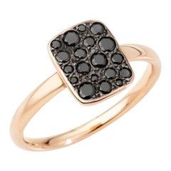 Pomellato Sabbia Ladies Black Diamond Ring A.B903PO7/BB