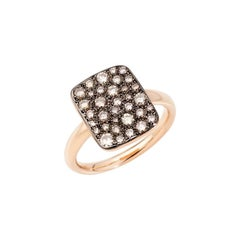 Pomellato Sabbia Ladies Brown Diamond Ring A.B903MO7/BR
