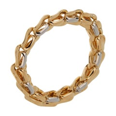 Pomellato Solid Gold 18 Karat Ladies Chain Link Bracelet