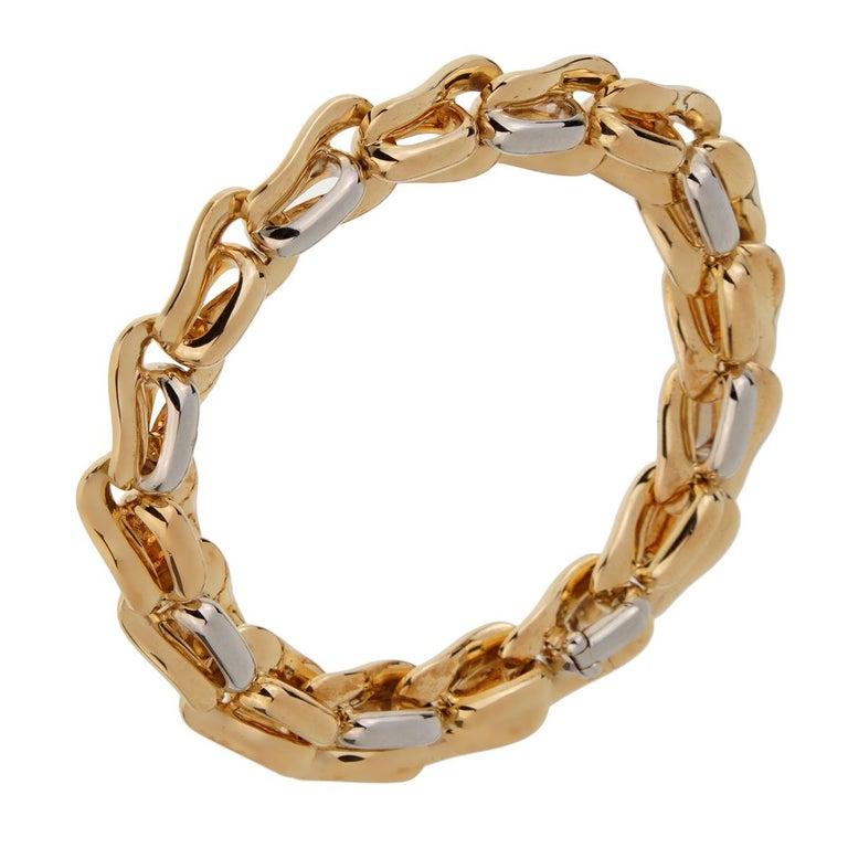 Women's Pomellato Solid Gold 18 Karat Ladies Chain Link Bracelet For Sale