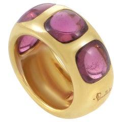 Pomellato Tourmaline Gold Band Ring