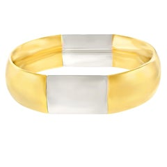 Pomellato Two-Tone Gold Bangle