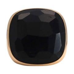 Pomellato Victoria Rose Gold Jet Ring