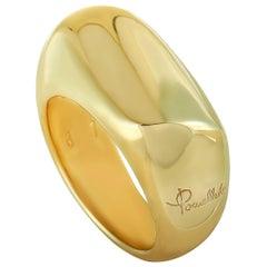 Pomellato Yellow Gold Band Ring