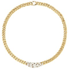 Pomellato Yellow Gold Diamond Necklace